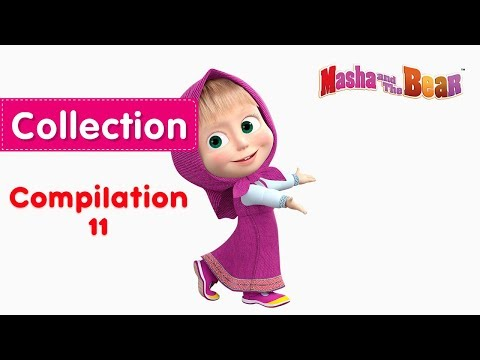 Xxx Mp4 Masha And The Bear Compilation 11 💚 3 Episodes In English 3gp Sex