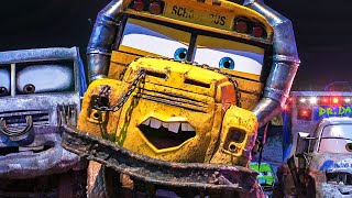"CARS 3 ""Miss Fritter"" Movie Clip + Trailer (2017)"