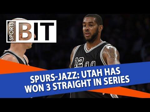 San Antonio Spurs at Utah Jazz   Sports BIT   NBA Picks