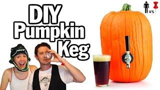 DIY Pumpkin Keg w/ Hannah Hart - Man Vs.Pin #36