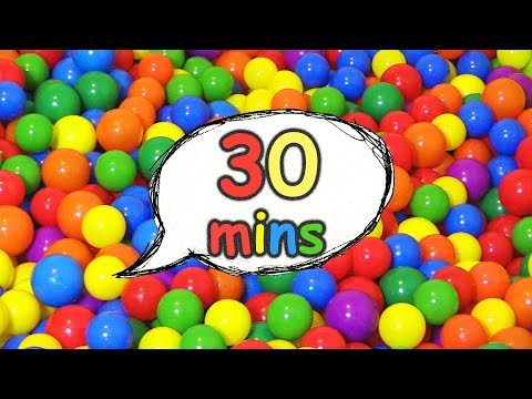 Ball Pit Show Original Plus Many More Videos For Kids 30 Minute Educational Compilation