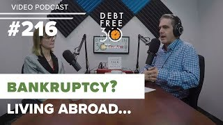 Should I File Bankruptcy in Canada if Living Abroad?