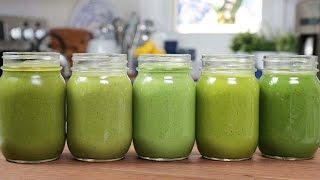 5 Green Smoothie Recipes