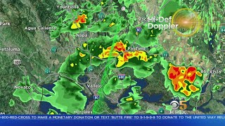 STORM WATCH: Winds, Rain and Lightning across the Bay Area