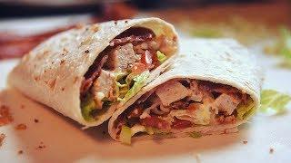 Chicken Wrap mudah dan sedap
