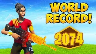 *WORLD RECORD* 2074 POINTS IN RANKED ARENA! - Fortnite Funny Moments! #536