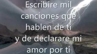 Jesus Adrian Romero Escribire mil canciones