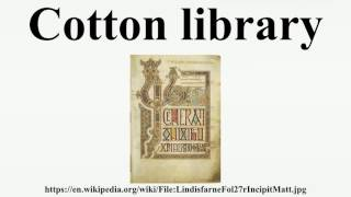 Cotton library