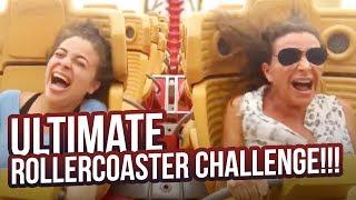 ULTIMATE ROLLER COASTER CHALLENGE!!!