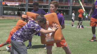 Dabo Swinney Football Camp Highlight - Youth Camp #2