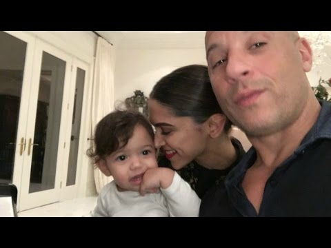 Xxx Mp4 Deepika Padukone Cute Selfie With Vin Diesel S Daughter Pauline 3gp Sex