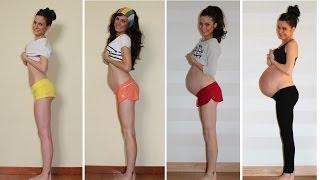 9 meses de embarazo crece un sueño / Pregnancy stop motion