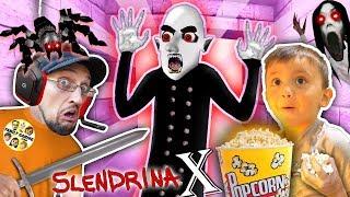 SLENDRINA X: The STRANGE HUSBAND! GRANNY