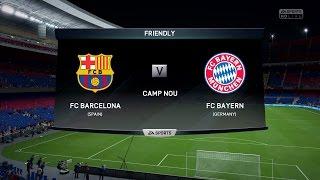 FIFA 16 | FC Barcelona vs FC Bayern Munich - Full Gameplay (PS4/Xbox One)