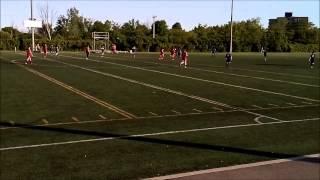 Chomedey Soccer AAA U16 vs Beauport 5-2 (second half) 6-6-2015