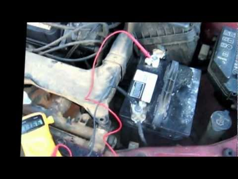 Como saber si falla el alternador o la bateria reparacion de carros