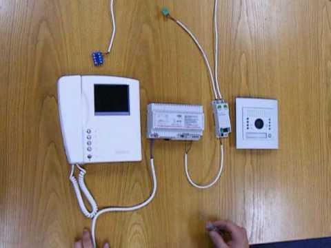 BTicino 2 Wire Swing Intercom