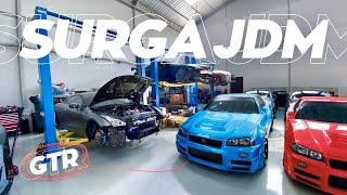 Bengkel JDM Tergokil!   Garage Tour: Excess Automotive