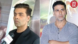 Karan Johar's Message For Kajol | Akshay Makes An Official Announcement About