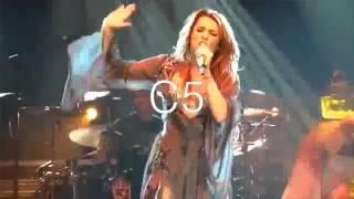 Miley Cyrus Live Vocal Range: Gypsy Heart Tour (D3-D6) (2011)