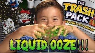 TRASH PACK LIQUID OOZE - Series 3 Unboxing & Review