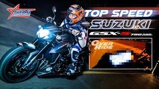 Suzuki GSX-S750 TopSpeed Test