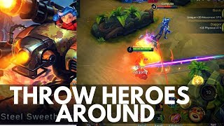 JAWHEAD : NEW FIGHTER HERO SKILL AND ABILITY EXPLAINED | Mobile Legends
