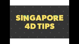 How To Buy And Win Singapore 4D Tips And Forecast Part 1