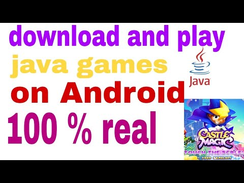 How to play Java game in Android phone | How to download Castle of Magic for Android