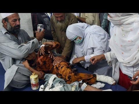Afghanistan: 12 schoolgirls killed in stampede in aftermath of massive earthquake