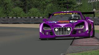 RFactor - GT3 Audi R8 - Anderstorp (Onboard) SimRacing
