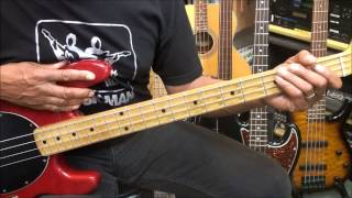 Pleasure GLIDE How To Play On Bass Guitar lesson Tutorial EricBlackmonMusicHD