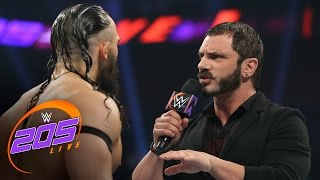 "Austin Aries delivers a ""WrestleMania message"" to Neville: WWE 205 Live, March 21, 2017"