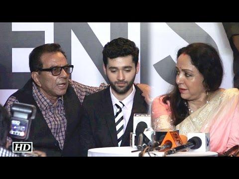 Xxx Mp4 Dharmendra Hema Malini Wish Utkarsh Luck For Bollywood Debut 3gp Sex