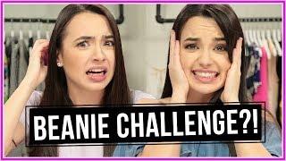 BEANIE CHALLENGE!? | Closet Wars w/ Merrell Twins