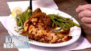 """""""Quite Possibly One Of The Worst Salmon Dishes I've Ever Eaten""""   Kitchen Nightmares"""