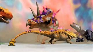 Dinosaur King Battle Against Edmontonia