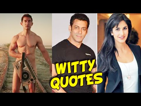 Aamir Khan NUDE In PK, Salman Katrina Romance | Witty Quotes Of The Year | Bollywood Rewind 2014