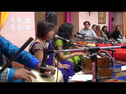 [Bhojpuri Live in USA] Ram ji ke Sohar by Swasti Pandey