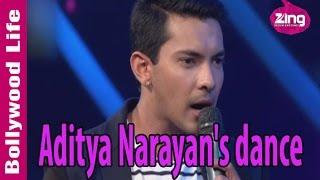 Aditya Narayan dances to