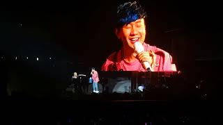 [JJ Lin 林俊杰] Sanctuary World Tour-Singapore 150818 - with David Foster & All by myself