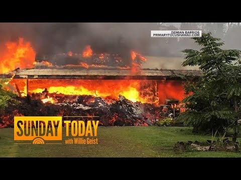 Hawaii Residents Face Uncertainty As Lava Toxic Gas Continue To Spew Sunday TODAY