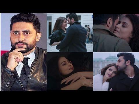 Ae Dil Hai Mushkil Teaser | Abhishek Bachchan's Reaction To ADHM Smoking Hot Teaser!