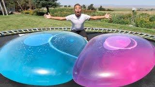 Giant Water Wubble Bubble Super Wubbles Balloon Bubble Ball Never Pops Adventure 2018!!