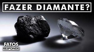 É Possível transformar carvão em Diamante? - Fatos Responde