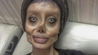 Iranian Woman Looks more like Corpse Bride rather than Angelina Jolie