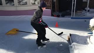 Eloan Le Gallic - Hockey tiny backyard rink