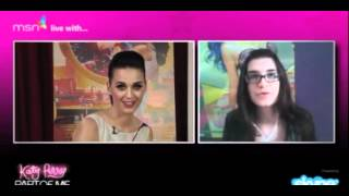 Katy Perry Skype Fan Chat Part 1