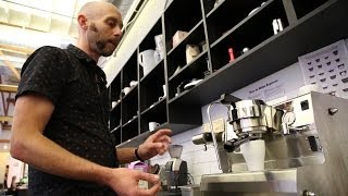 How to Make an Espresso with a Synesso Cyncra + Clean-up
