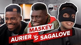 SERGE AURIER vs SAGA LOVE – MASKEY // WATER BOTTLE CHALLENGE